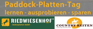 Paddock-Platten-Tag auf dem Wonnenberger Hofw